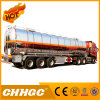 D'acier inoxydable de transport de réservoir remorque liquide semi