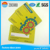 Cartão esperto cheio do presente do PVC RFID do plástico da impressão do negócio da cor