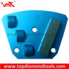 PCD e Diamond Trapezoid Grinding Plates para Concrete Polishing