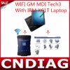 Gm Mdi Tech3 Tech 3 Multiple Diagnostic Interface WiFi высокого качества с компьтер-книжкой Full Set Ready IBM X61t к Use