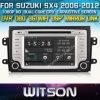 Witson Radio voiture avec le GPS pour Suzuki SX4 (2006-2012) W2-D9657X