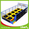 12 tester di Rectangle Rebounder Trampoline con Basketball Hoop