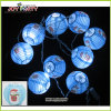 3  Licht van de Slinger van de Decoratie van de Verlichting van Kerstmis van het Koord van de Lantaarn van het Document het Lichte
