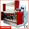Presionar el doblador plateado de metal Wc67y de la máquina del freno