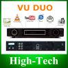 Satellitenempfänger des Vu+ Duo-Zwilling-Tuner-HD PVR DVB-S2 Digital, DVB Vu plus Duo