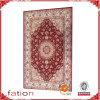 Tapete impresso adornado mão do tapete do tapete teste padrão oriental persa