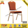 Hotel de aço Stackable Banquet Chair com Handle