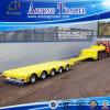 De verlengbare Lage Flatbed Aanhangwagen van de Lengte voor Verkoop