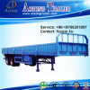 옆 Wall Open 3 Axles 45t Flatbed Special Vehicle Semi Trailer Truck (LAT9403)