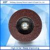 rueda de la solapa del Zirconia de la fábrica del disco de la solapa de 4  Wolcut