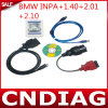 para BMW Inpa + 140+2.01+2.10 4 en 1 Diagnostic Interface