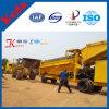 50tph de mobiele Gouden Installatie van de Was in de Alluviale Mijnen van Ghana