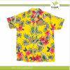 Camicia hawaiana respirabile della spiaggia del cotone di abitudine 100 (KY-S004)