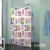 Cortina impermeável do banheiro da cortina de chuveiro (JG-237)
