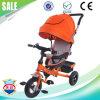 Трицикл детей стальной рамки высыхающего при нагреве в печи лака новой модели материальный