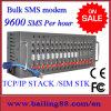 Massa Port SMS di sostegno del raggruppamento del modem di GSM 16 GPRS