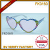 Forme de belles lunettes de soleil d'armature de PC pour les enfants (FK0160)