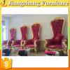 Présidence royale de trône de dos de bonne qualité de haute en vente