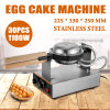 De elektrische Machine van het Roestvrij staal van de Wafel van de Maker van het Brood van het Ei van de Oven van de Cake van het Ei