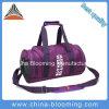 Пурпуровый мешок Duffle пригодности напольных спортов отдыха плеча гимнастики перемещения