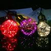 Bombilla de la cadena del alambre de cobre LED de la decoración de G95 G125 RGB