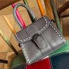 Kundenspezifischer PU-lederner Dame-Form-Handtaschen-Frauen-Schulter-Beutel 2016 Sy7836