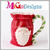 Чашка рождества кружки кофеего с чашкой ручки керамической