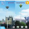 Iluminação pólos da rua e mastros elevados