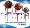 Globo caldo della pietra preziosa del basamento 650mm/550mm/450mm/330mm del pavimento di vendita di Yaye 18/globo del mondo