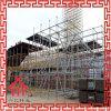 Materiales de construcción del andamio Q235 galvanizados