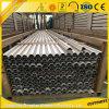 O alumínio profissional do fabricante seciona o indicador de alumínio e a porta