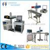 Máquina portable de la marca del laser de la fibra de Chenghao 10W usada para tallar la plata