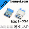 3.0 de Schakelaar van het Type USB van soldeersel met het Opzetten van de Voet van de Harpoen
