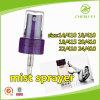 24 mm personalizado plástico niebla bomba del pulverizador con 0,12 ml Dosis