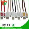 Цветной кожаный кабель USB Кабель высокого качества зарядки