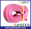 Roze Vlakke Kabel HDMI Van uitstekende kwaliteit (F016)