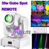 Preiswerter Preis30/60w Gobo-bewegliches Hauptweihnachtslicht LED