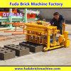 Mini máquina móvel hidráulica concreta do tijolo da colocação de ovo