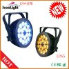 LED Multipar 빛 18 RGBWA+UV