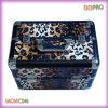 Caja de tren dura de la belleza del PVC de la impresión caliente del leopardo (SACMC046)