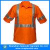 鉱山の仕事着の夏2のポケットこんにちは気力作業ワイシャツ