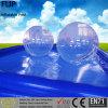 Plastikinnen- u. im Freienaufblasbares über Grundpool