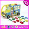 Giocattolo di legno brandnew dell'automobile 2016, automobile di legno educativa del giocattolo, giocattolo di legno dell'automobile di DIY, giocattolo di legno prescolare dell'automobile per il bambino W04A213