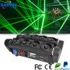 Araña láser verde no Cabeza móvil DMX DJ Iluminación Escénica
