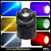 Mini lumière principale mobile de faisceau de la lumière 60W DEL de disco avec la rotation illimitée