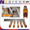 Isolierungs-Stromversorgungen-Kupfer-Leiter-Schiene für Kran