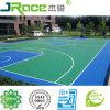 De openlucht Materialen van de Bevloering van het Hof van het Basketbal van het Silicium Pu