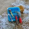 El molde de la pasta de azúcar del silicón F1057 para el maquillaje cosmético de la caja filetea el lápiz labial
