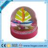 Глобус воды Polyresin хорошего качества розовый