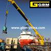 Кран торговый поставщика Китая обеспечения гидровлический или электрический морской башни Slewing с низкой ценой